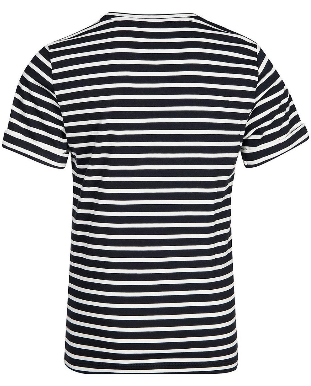 T-Shirts - AO2 - Gestreiftes T-Shirt mit Print